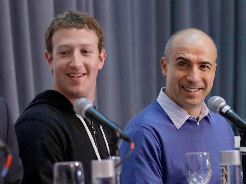 Facebook、阿里、京東 … 背後的男人